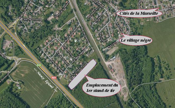 Stand de tir militaire de Thaon les Vosges