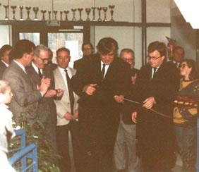 Inauguration du stand de tir de thaon les Vosges