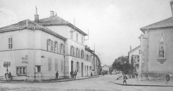 L'ancien Hôtel de ville de Thaon les Vosges