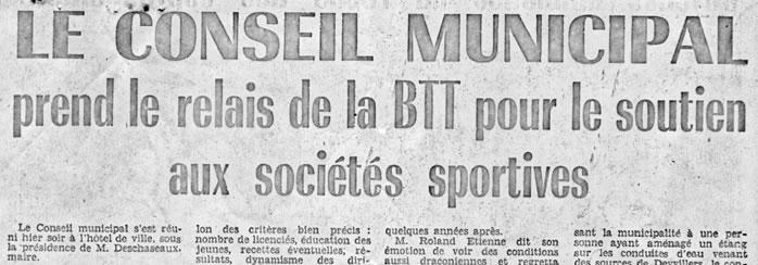 ''La liberté de l'EST'' du 8 juin 1973